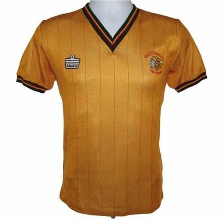 1982-1983 Hull City Home Football Shirt, Admiral, Small (Excellent Condition)